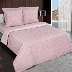 """Купить постельное белье поплин гладкокрашеный """"Византия розовая"""" в Волгограде"""