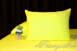 Купить желтые трикотажные наволочки на молнии в Волгограде