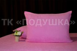 Купить розовые махровые наволочки на молнии в Волгограде