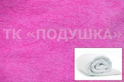 Купить розовый махровый пододеяльник  ТМ Подушка в Волгограде