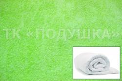 Купить салатовый махровый пододеяльник  в Волгограде